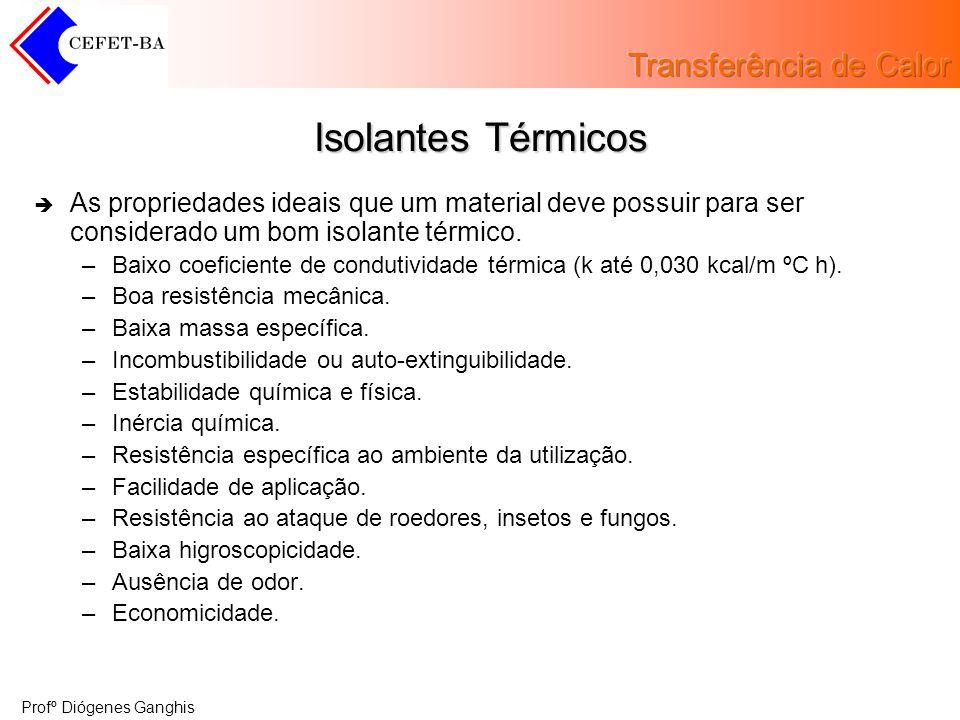 Isolantes Térmicos As propriedades ideais que um material deve possuir para ser considerado um bom isolante térmico.