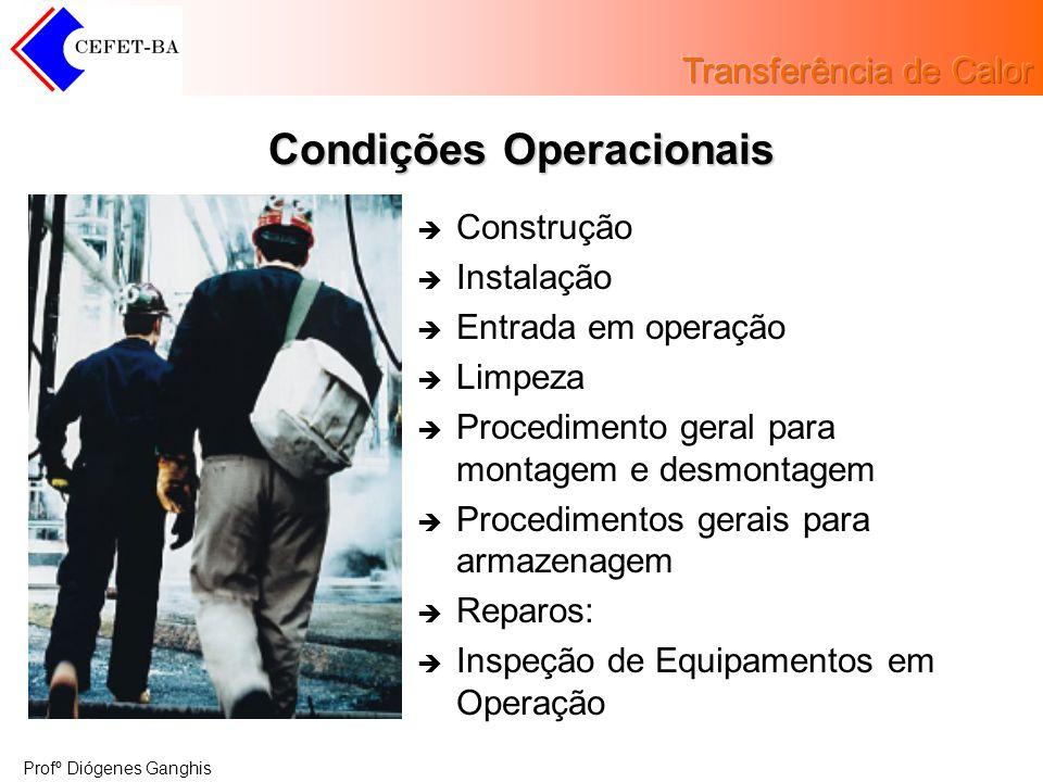 Condições Operacionais