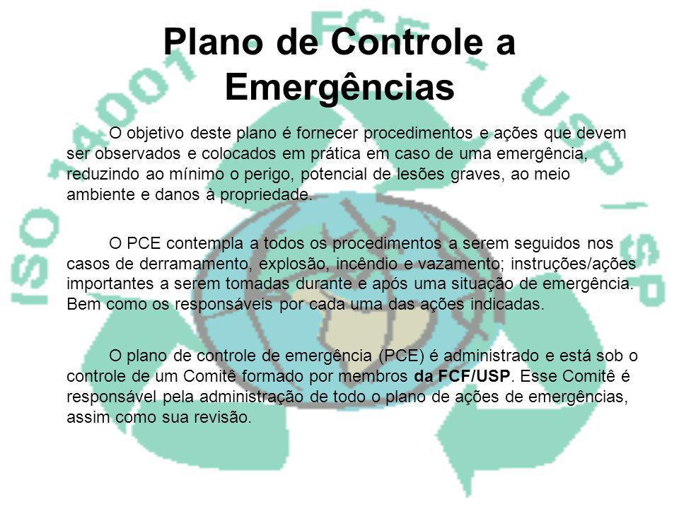Plano de Controle a Emergências