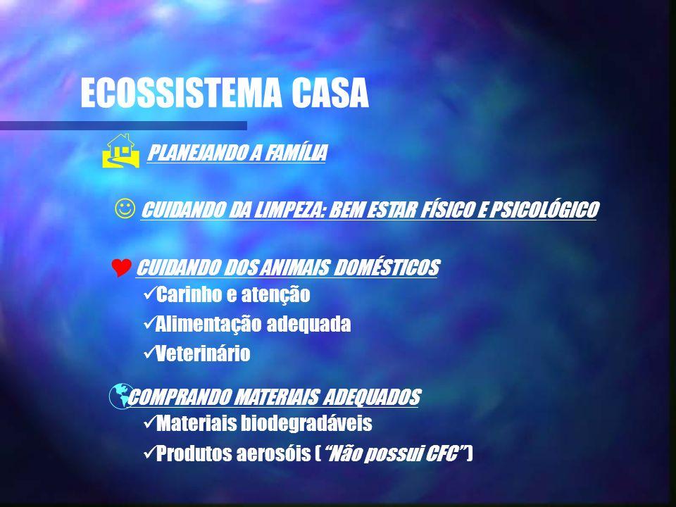 ECOSSISTEMA CASA PLANEJANDO A FAMÍLIA
