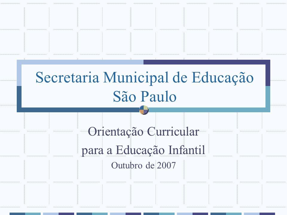 Secretaria Municipal de Educação São Paulo