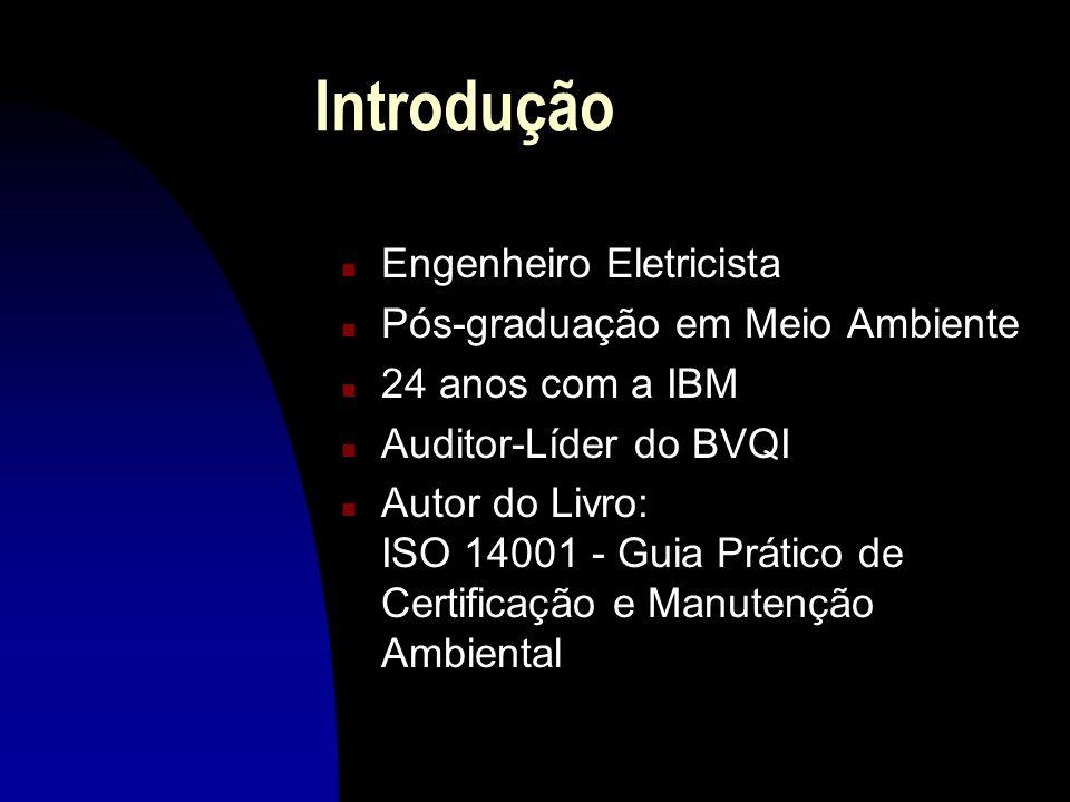 Introdução Engenheiro Eletricista Pós-graduação em Meio Ambiente