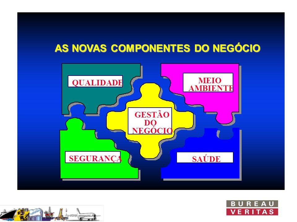 AS NOVAS COMPONENTES DO NEGÓCIO