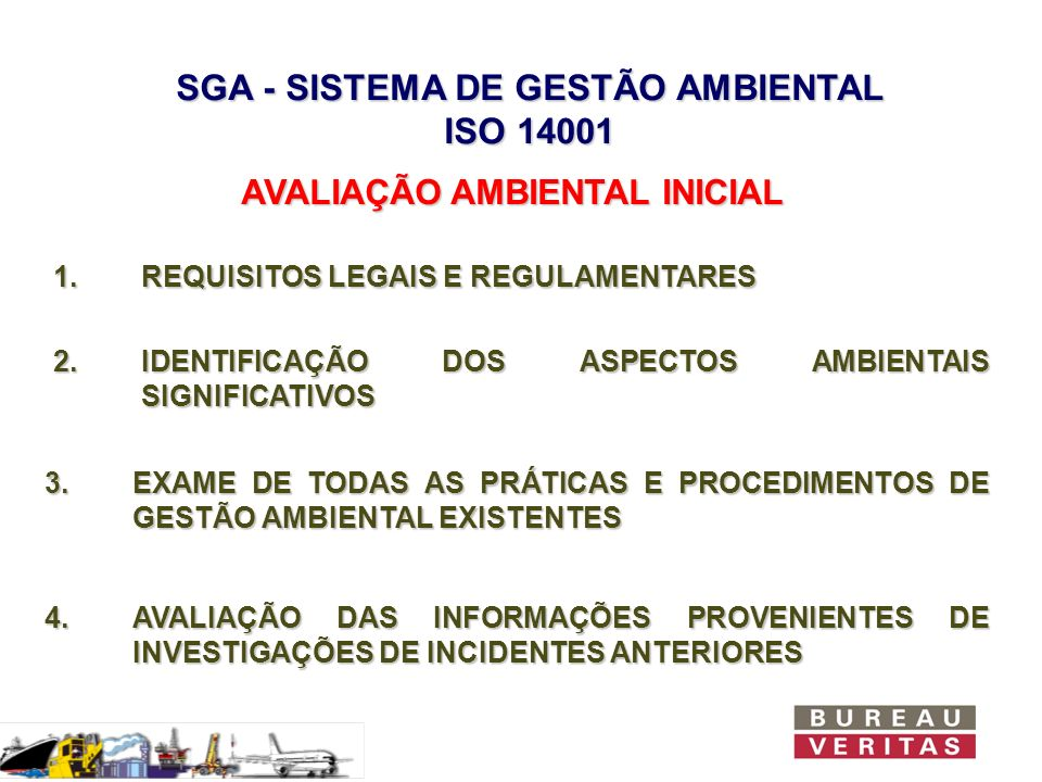 SGA - SISTEMA DE GESTÃO AMBIENTAL ISO 14001