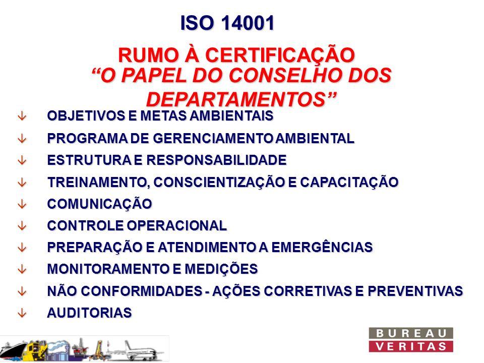 O PAPEL DO CONSELHO DOS DEPARTAMENTOS