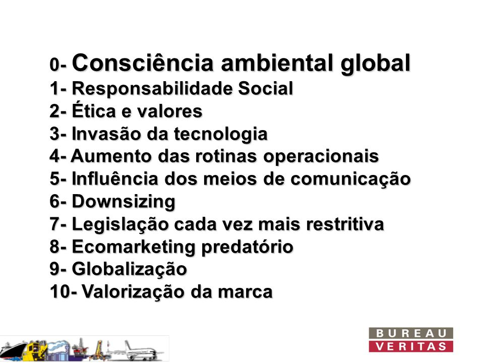 0- Consciência ambiental global