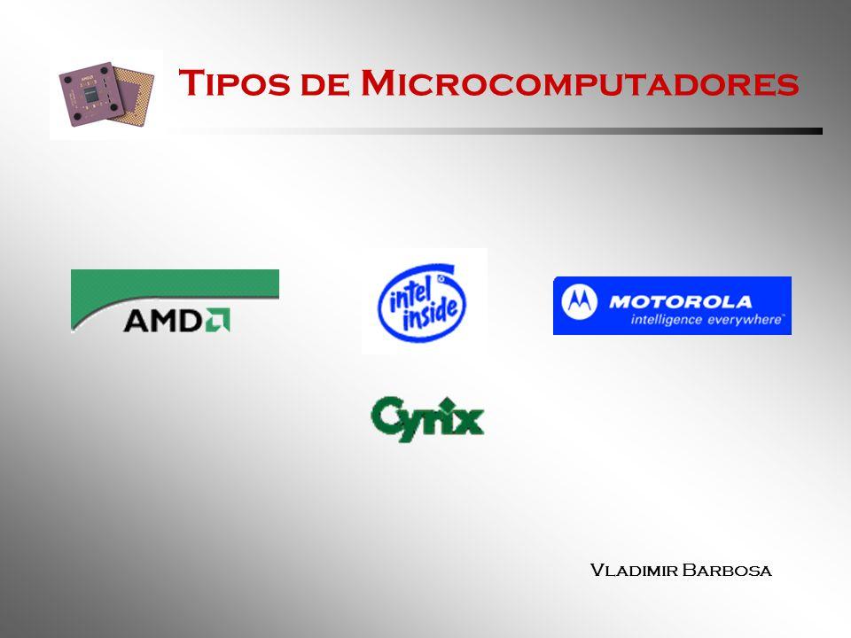 Tipos de Microcomputadores