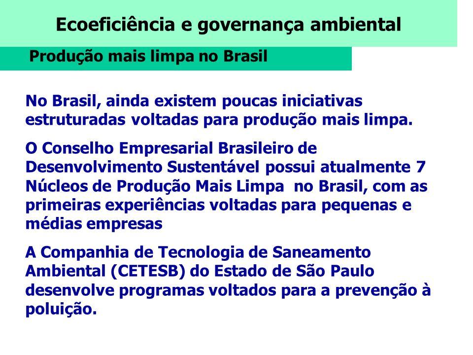 Produção mais limpa no Brasil