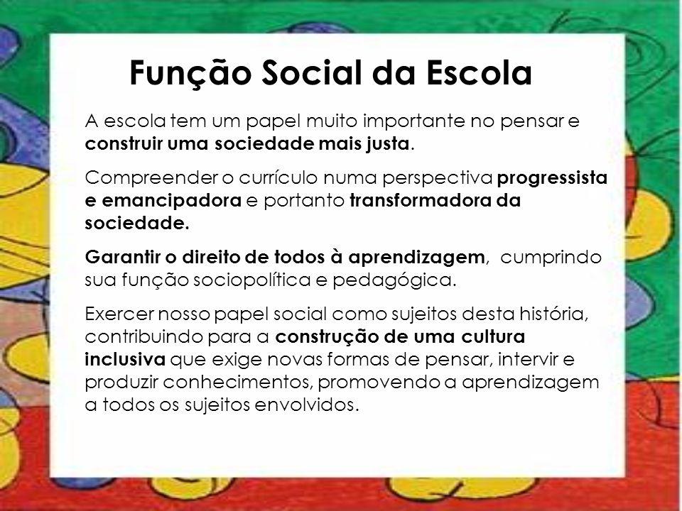 Função Social da Escola