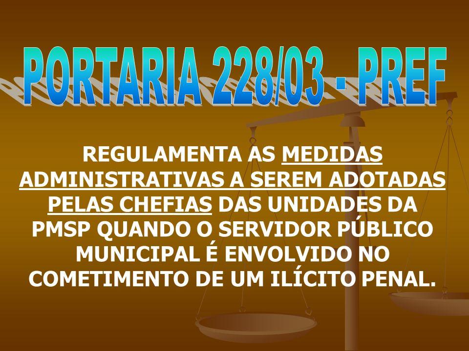 PORTARIA 228/03 - PREF
