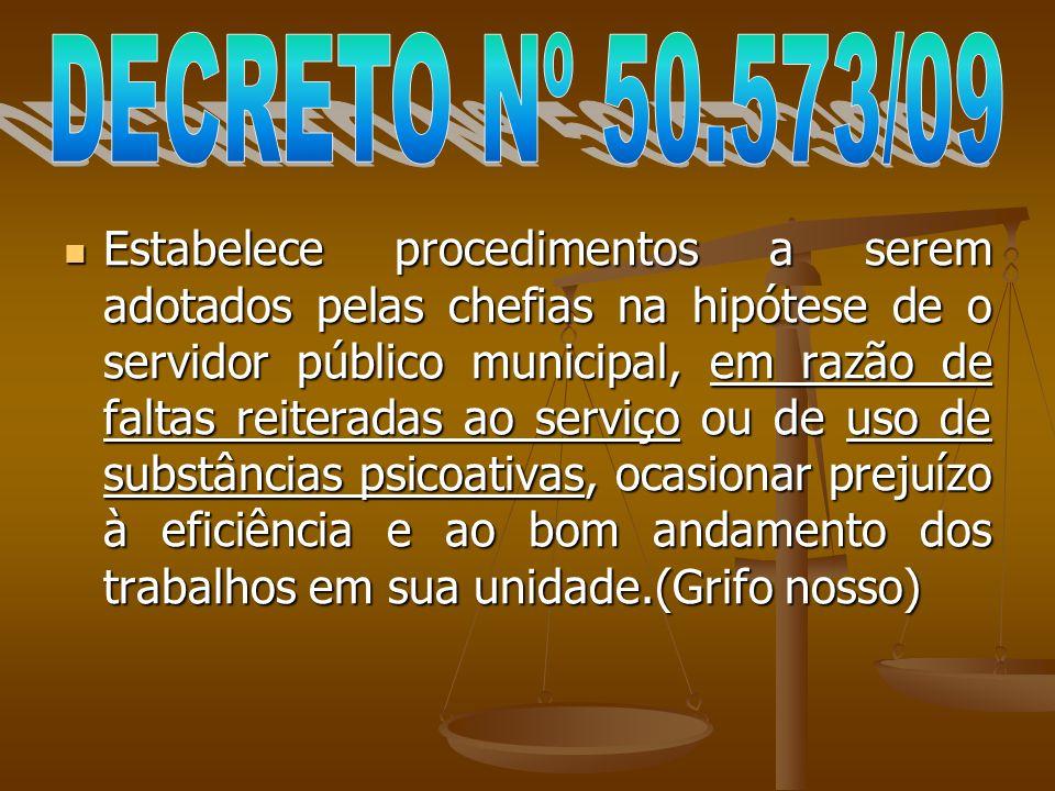 DECRETO Nº 50.573/09