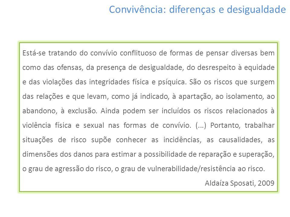 Convivência: diferenças e desigualdade