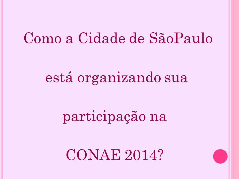 Como a Cidade de SãoPaulo