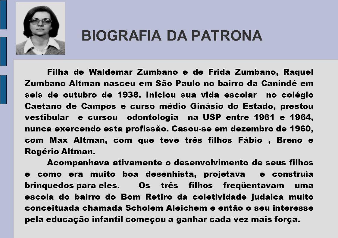 BIOGRAFIA DA PATRONA