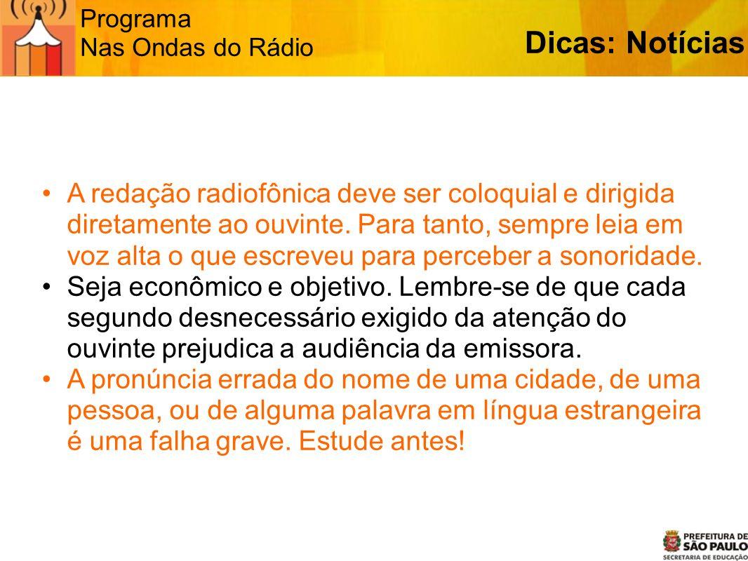 Programa Nas Ondas do Rádio