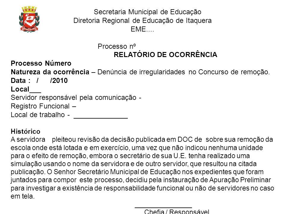 Diretoria Regional de Educação de Itaquera