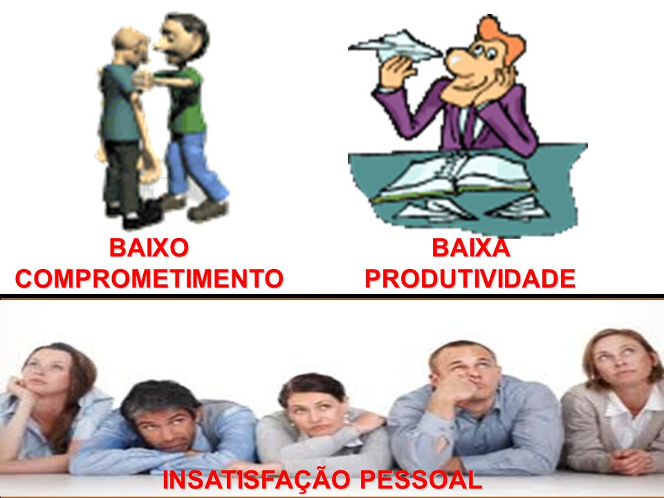 BAIXO COMPROMETIMENTO