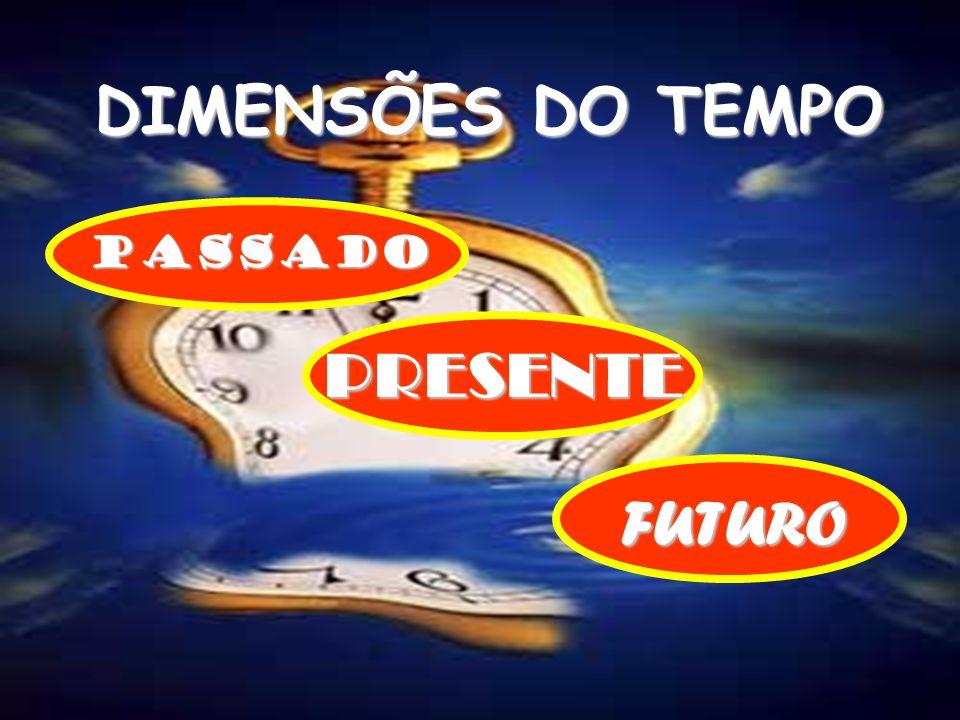 DIMENSÕES DO TEMPO PASSADO PRESENTE FUTURO