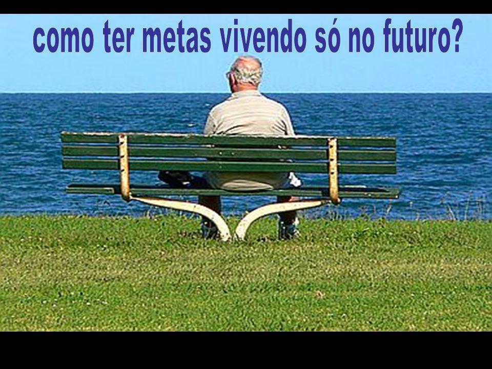 como ter metas vivendo só no futuro