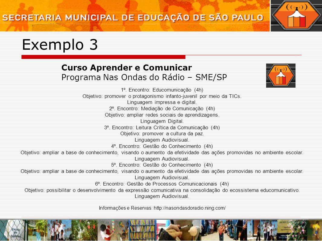 Exemplo 3 Curso Aprender e Comunicar
