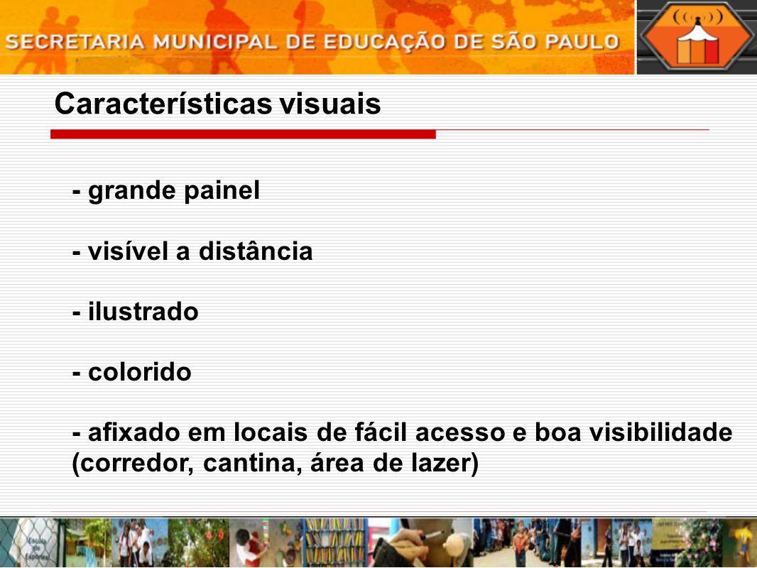 Características visuais