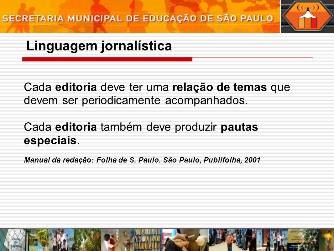 Linguagem jornalística