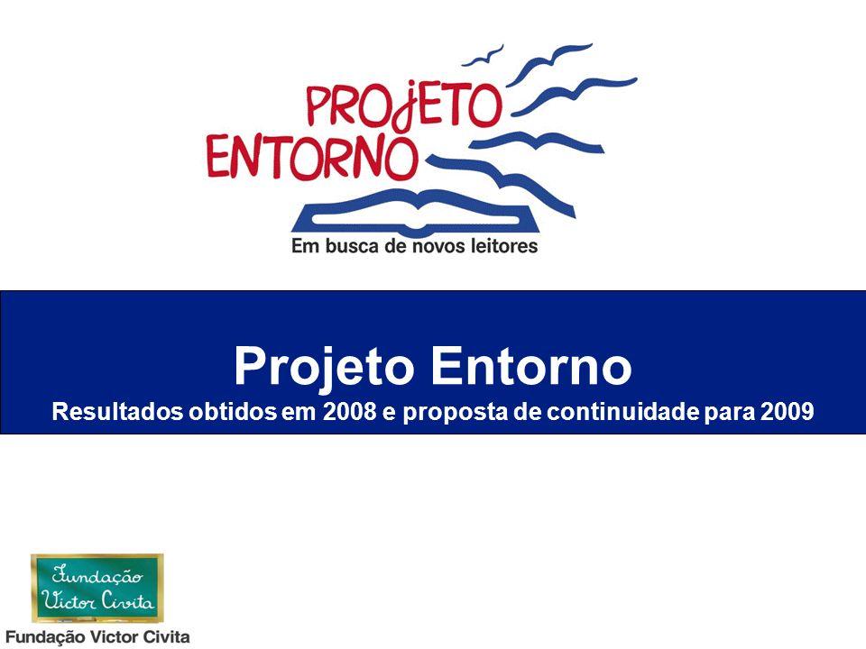 Resultados obtidos em 2008 e proposta de continuidade para 2009