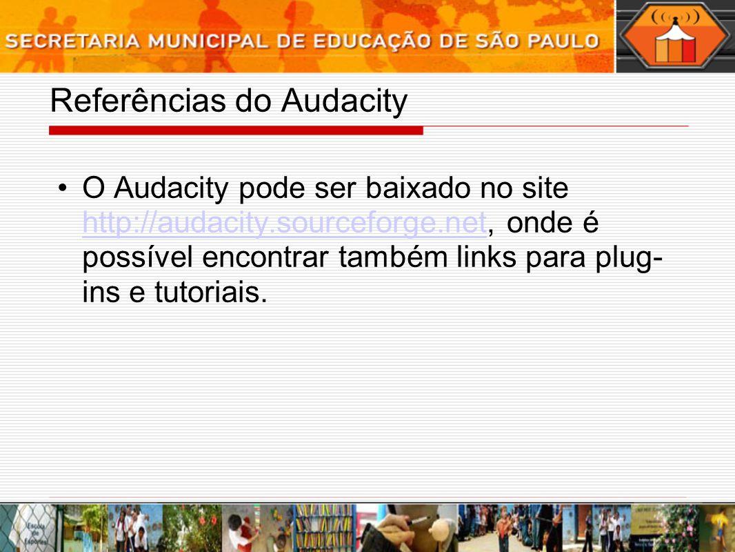 Referências do Audacity