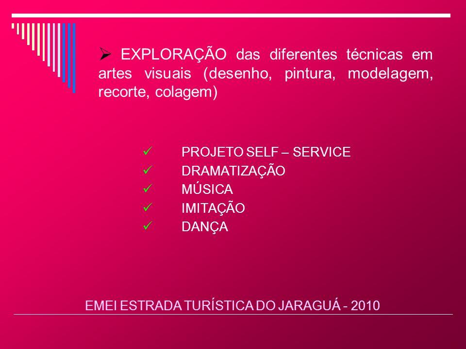 EMEI ESTRADA TURÍSTICA DO JARAGUÁ - 2010