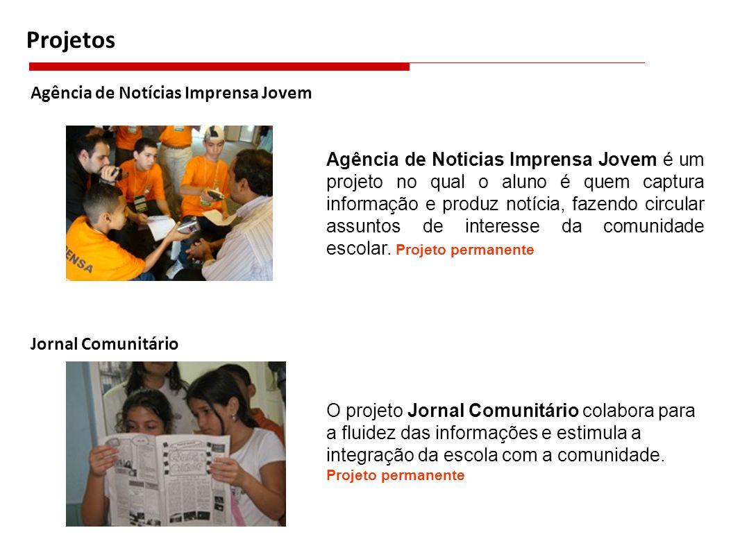 Projetos Agência de Notícias Imprensa Jovem