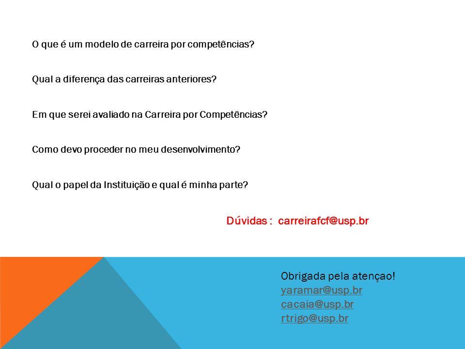 Dúvidas : carreirafcf@usp.br