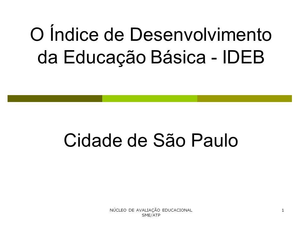 O Índice de Desenvolvimento da Educação Básica - IDEB