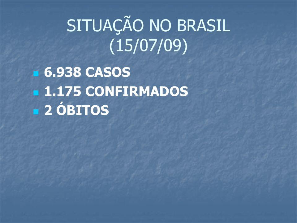 SITUAÇÃO NO BRASIL (15/07/09)