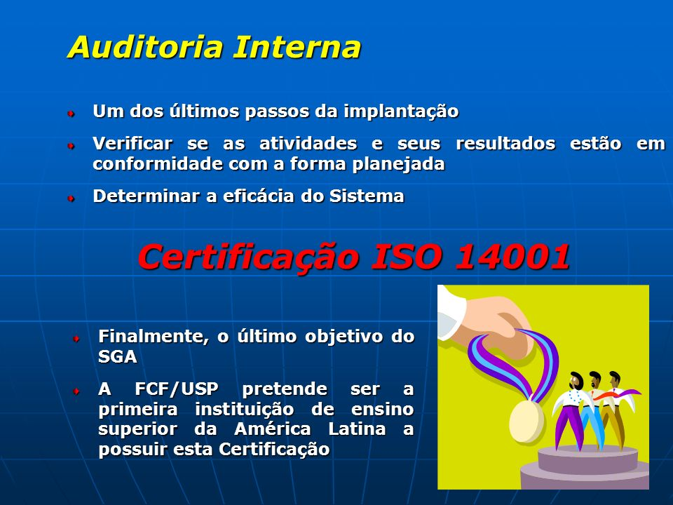 Certificação ISO 14001 Auditoria Interna