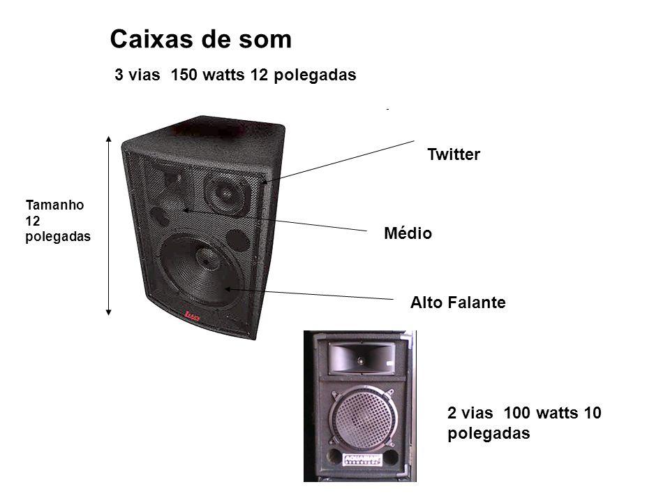 Caixas de som 3 vias 150 watts 12 polegadas Twitter Médio Alto Falante