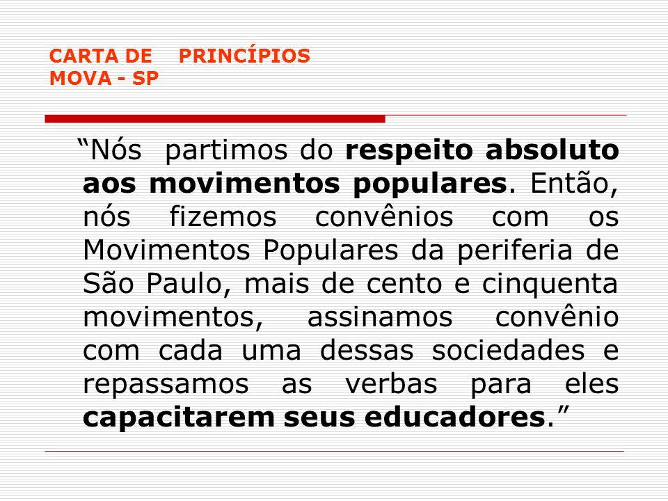 CARTA DE PRINCÍPIOS MOVA - SP