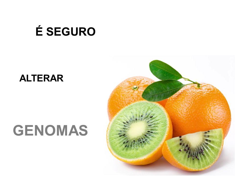 É SEGURO ALTERAR GENOMAS