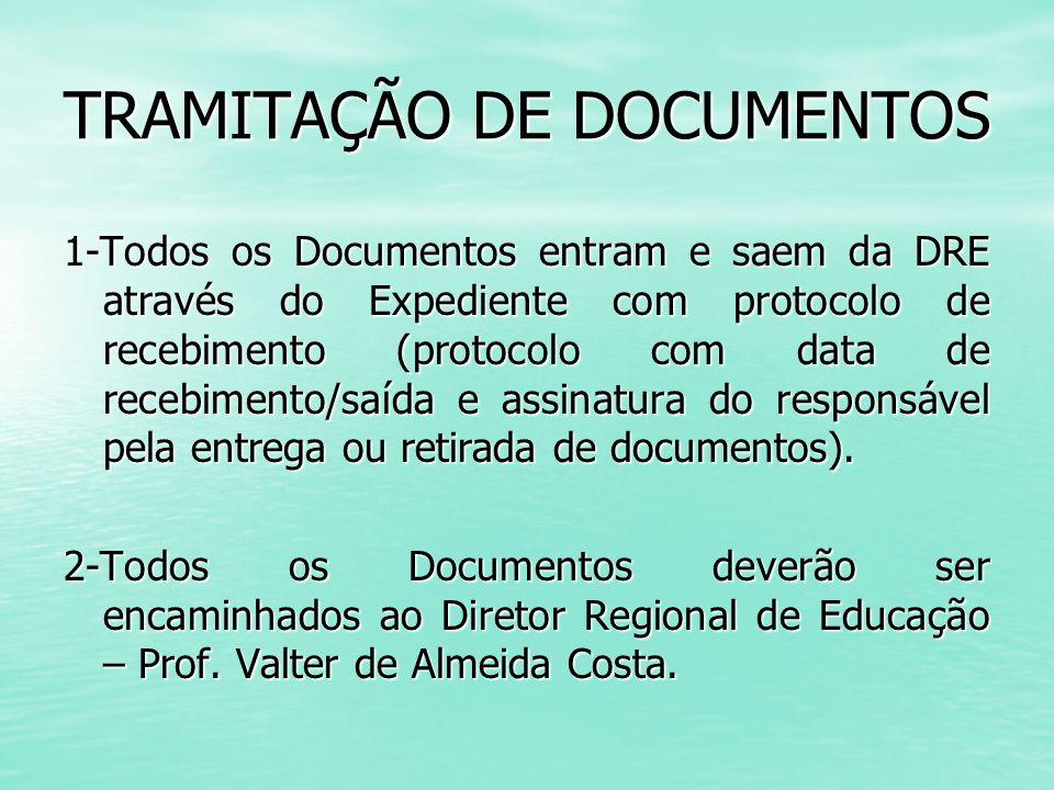 TRAMITAÇÃO DE DOCUMENTOS