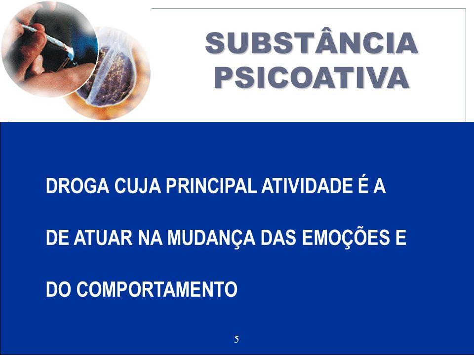 SUBSTÂNCIA PSICOATIVA