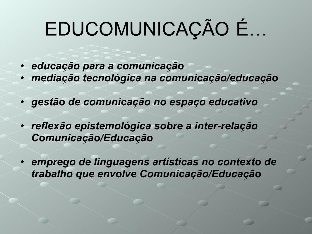 EDUCOMUNICAÇÃO É… educação para a comunicação