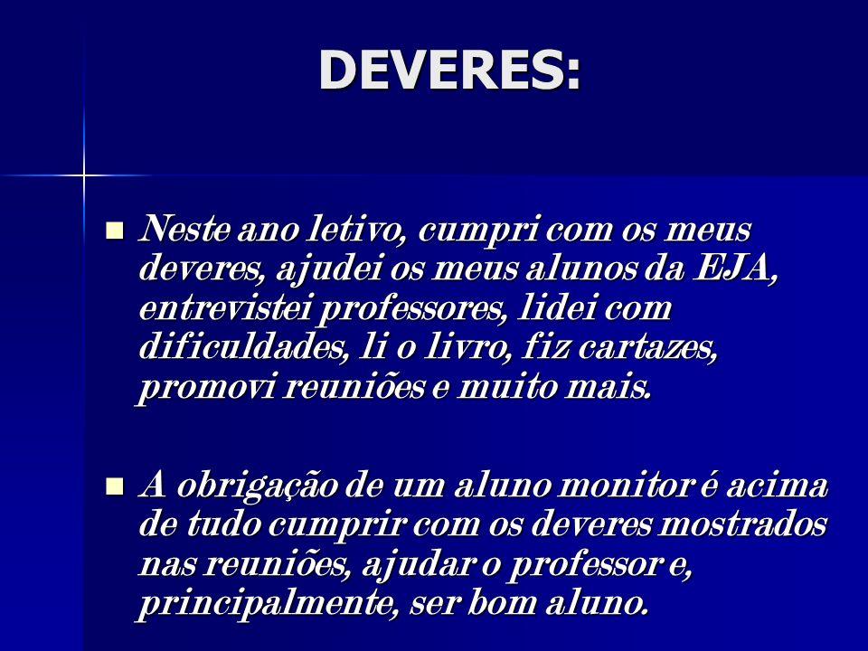 DEVERES: