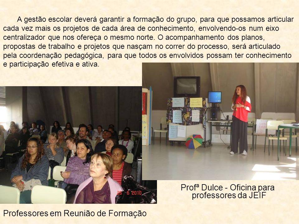 Profª Dulce - Oficina para professores da JEIF