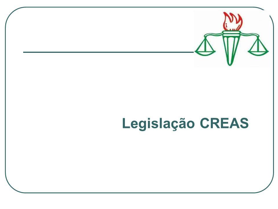 Legislação CREAS