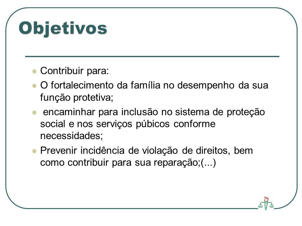 Objetivos Contribuir para: