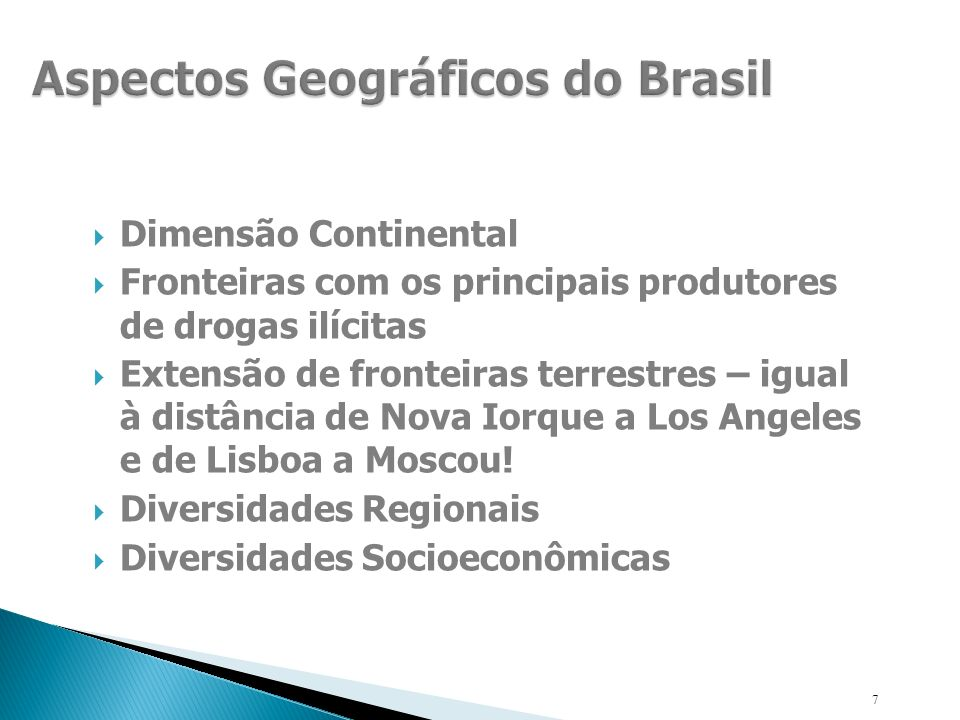 Aspectos Geográficos do Brasil
