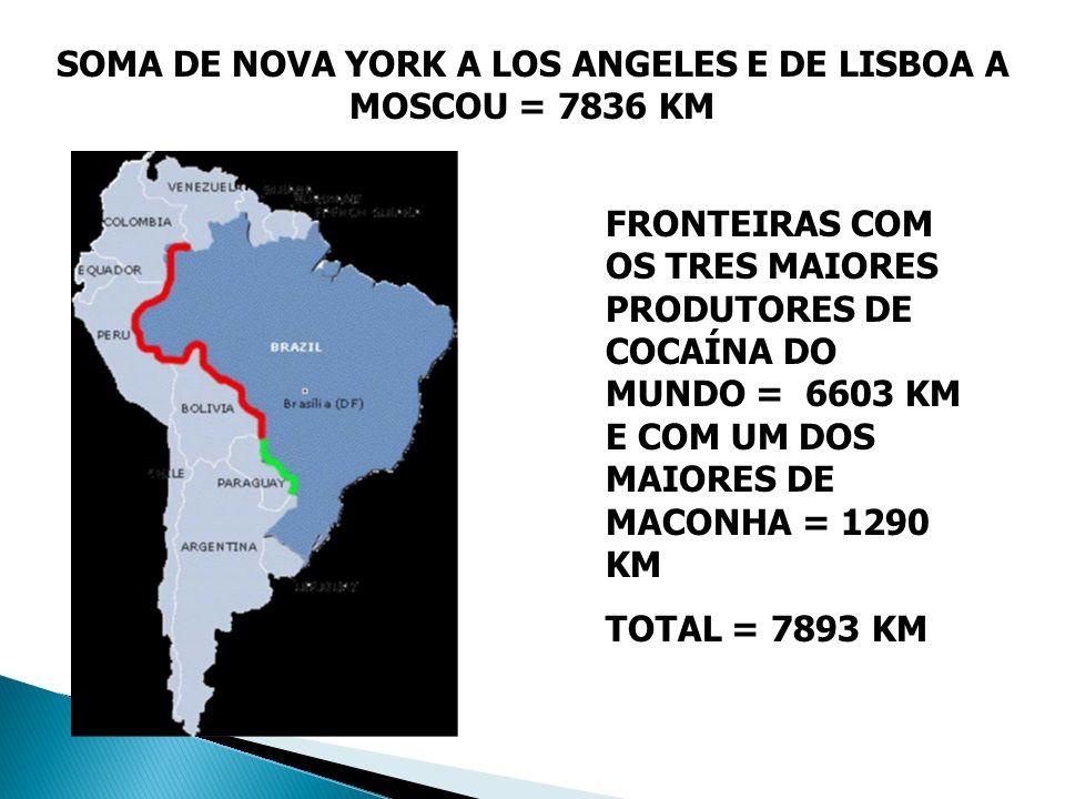 SOMA DE NOVA YORK A LOS ANGELES E DE LISBOA A MOSCOU = 7836 KM