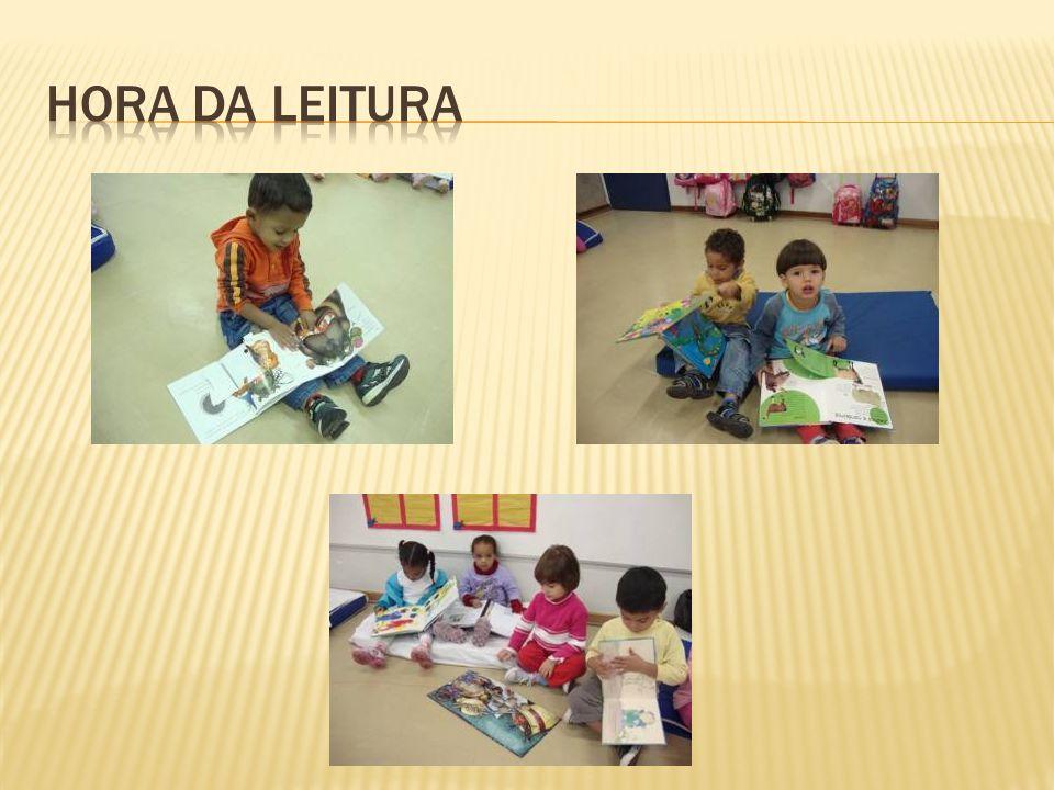 Hora da leitura
