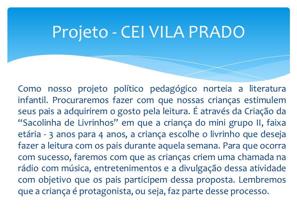 Projeto - CEI VILA PRADO