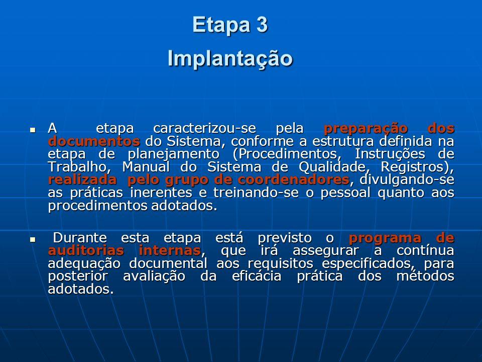 Etapa 3 Implantação