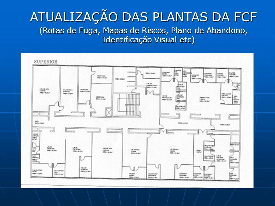 ATUALIZAÇÃO DAS PLANTAS DA FCF